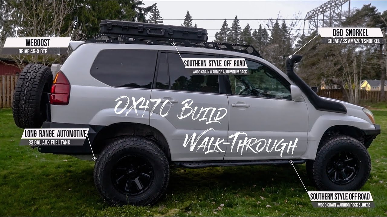 Build A Lexus >> Gx470 Walkthrough Our Lexus Overland Build