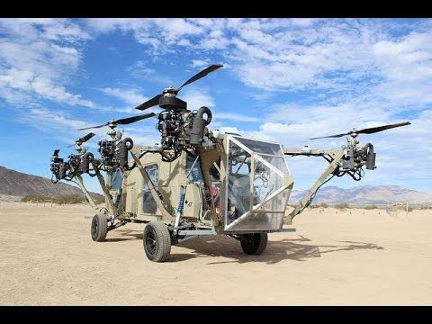AT Black Knight Transformer first cargo truck helicopter VTOL vertical takeoff and landing aircraft