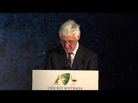 Brearley presents Bradman Oration 2013