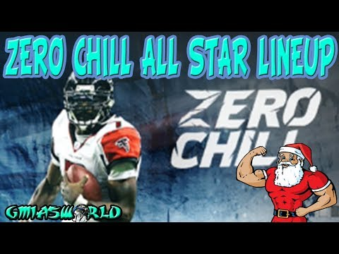 MADDEN 18 ZERO CHILL ALL STAR LINEUP + WE UPGRADE LADAINIAN TOMLINSON TO 95 OVERALL | MUT 18 TIPS