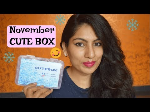 November Cute Box 2017 Unboxing| Most affordable Jewelry Box in India @Rs.399