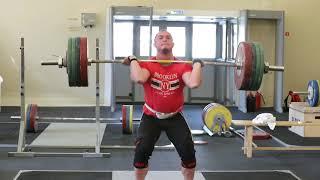 Российские тяжелоатлеты проводят тренировочный сбор в Юг Спорте