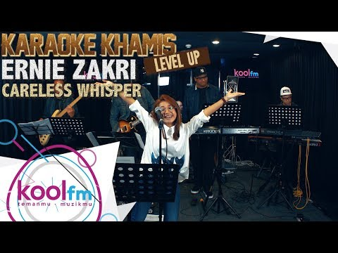 ERNIE ZAKRI - Careless Whisper - George Michael Cover | Karaoke Khamis Level Up!