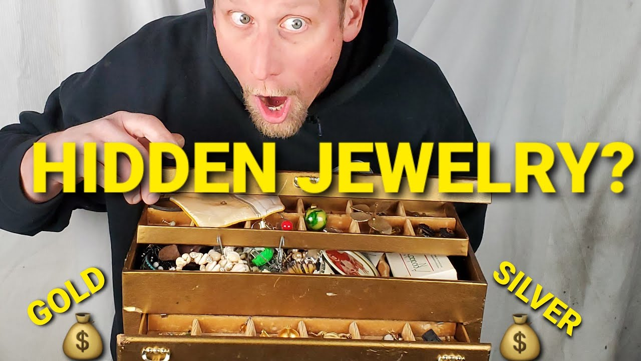Owner WANTED ABANDON Storage Unit Back, See Why? GOLD & STERLING? Hidden Treasures UNBOXING VIDEO