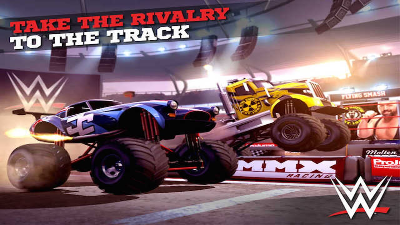 Monster Truck Games For Kids Monster Trucks In Race Monster