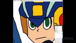 MegaMan NT Warrior - SpeedPaint