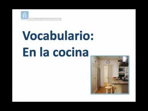 Vocabulary in the kitchen vocabulario en la cocina youtube - La cocina sana de isasaweis ...