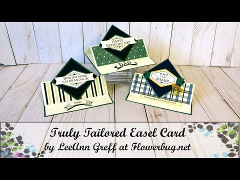 Truly Tailored Easel Card