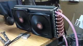 China spindle 1,5kW homemade cooling system, test version pt2 Chłodzenie wodne wrzeciona cnc
