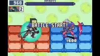 [Megaman Battle Network 6] SeiyaExe Vs EraserMan