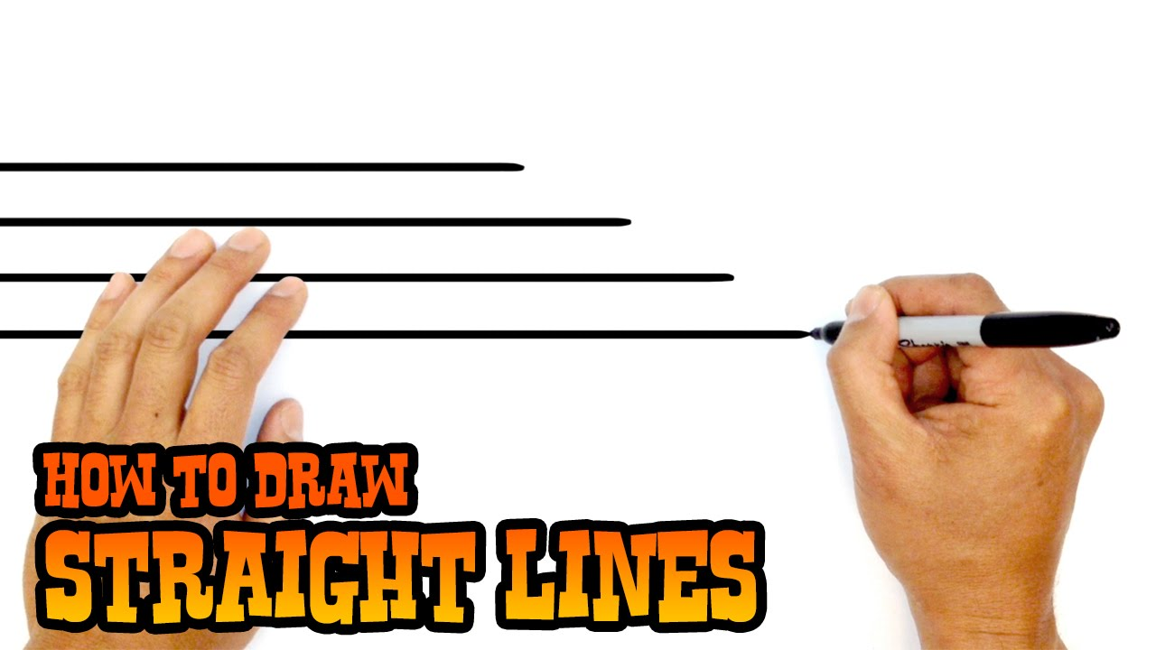 Straight Line Intro The Art Of Closing : How to draw straight lines quick art tip youtube