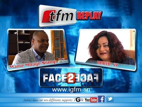 Face2Face Mame Mbaye NIANG ministre de la jeunesse 29 Mai 2016