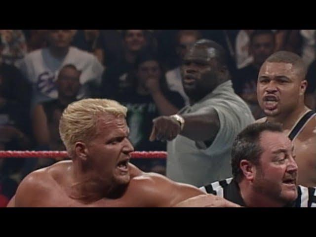 Jeff Jarrett vs. D'Lo Brown - Intercontinental and European Championship Match: SummerSlam 1999