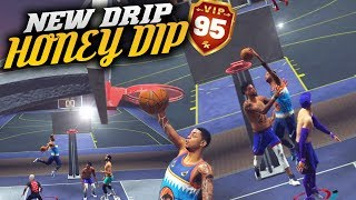Honey Dip! Contact Dunk To End The Game! NBA 2K19 Park Gameplay