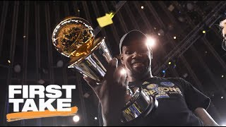 Stephen A.: Kevin Durant Can Do What He Wants With His Money | First Take | ESPN