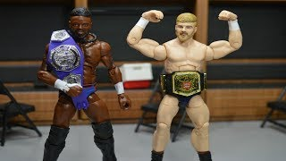 new custom wwe elite figures cedric alexander more