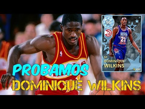 PROBAMOS Dominique WILKINS Diamante | NBA2K18