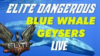 Elite: Dangerous The Blue Whale Nebula and Geysers | Road to Colonia