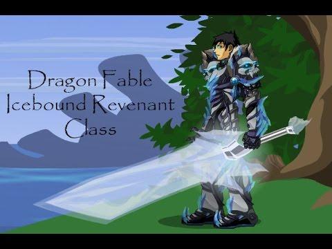 Dragon Fable Icebound Revenant Class