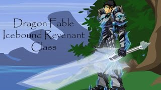 Dragon Fable Icebound Revenant Class