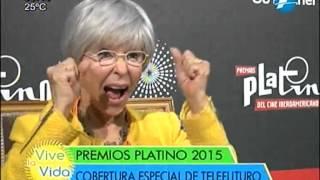 Entrevista a Rita Moreno (Premios Platino) - #ViveLaVidaPy - 29/07/2015