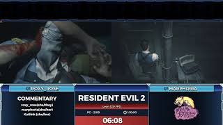 Resident Evil 2 by marphoria and roxy_rose in 1:03:27  - Frame Fatales 2019
