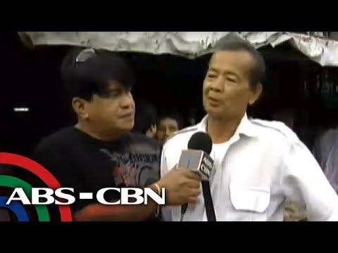 Marc Logan meets taxi driver who wants to be president
