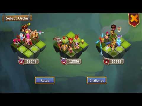 Castle Clash Lost Battlefield   Making New Teams