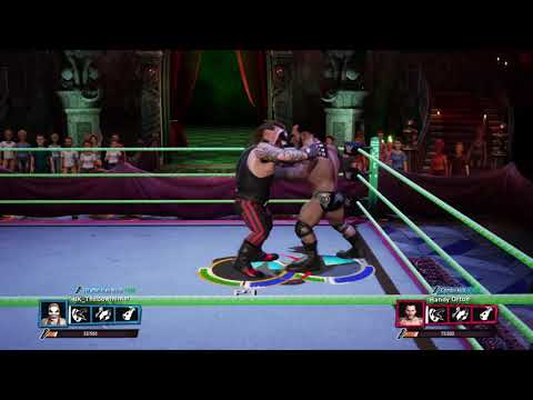 WWE 2K Battlegrounds The Fiend vs Randy Orton |