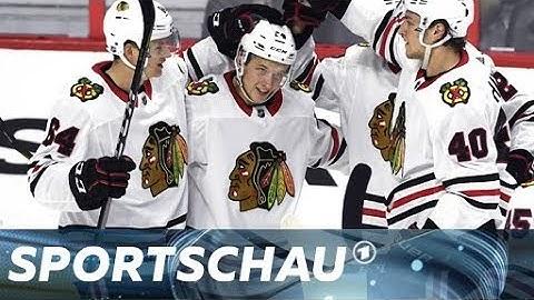 Dominik Kahuns Weg bis in die NHL I Sportschau