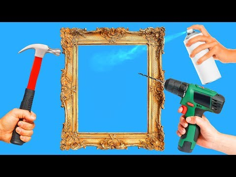 18 INTERESTING DIY PICTURE FRAME IDEAS