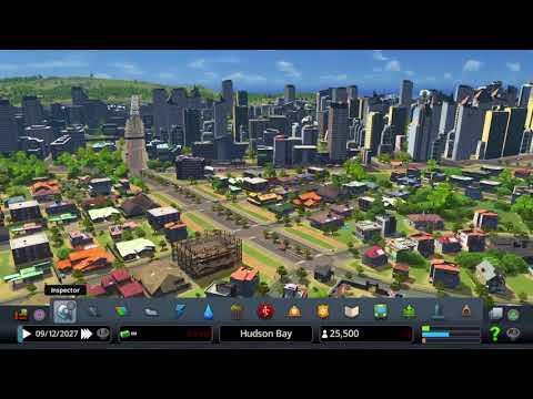 Cities: Skylines PS4 Hudson Bay Pt 1