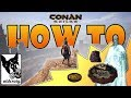 HOW TO FAST TRAVEL (Map Room) - Conan Exiles