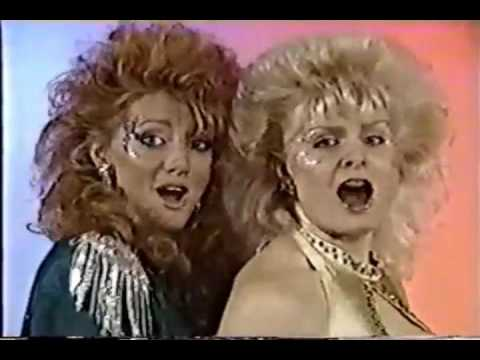 GLOW Gorgeous Ladies of Wrestling Faberge Organics Commercial Roxy Astor Godiva