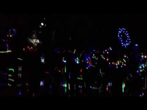 Cass City High School Marching Band Light Show 2013
