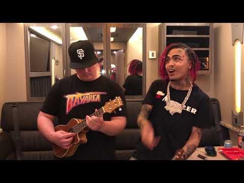 Lil Pump x Einer Bankz SMASHING UKULELE!! (Off White Acoustic)