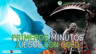 Primeros minutos a los juegos con Gold del 15 de Noviembre al 15 de Diciembre |MondoXbox