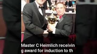 action magazine Hall of honors 2018 honoring master C Heimlich special induction