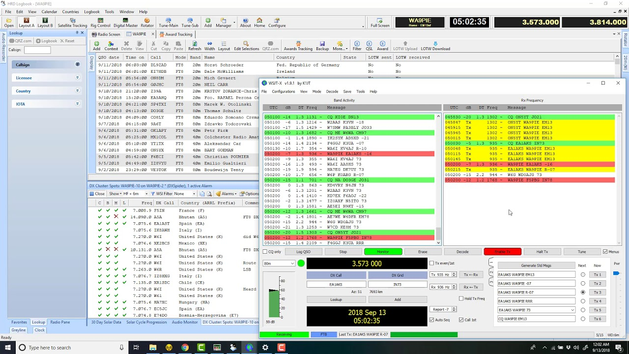 WSJT-X and FT8