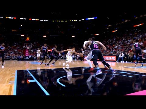 Jeremy Lin Highlights - Hawks at Heat 11/27/18