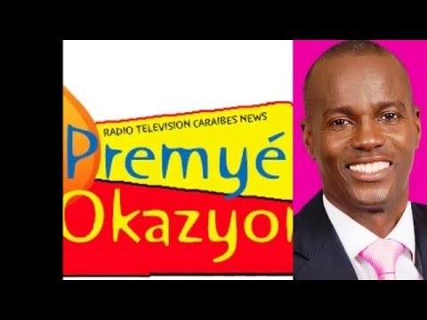 Jovenel Moïse à la rubrique « Libre Opinion » sur  Radio Télévision Caraïbes