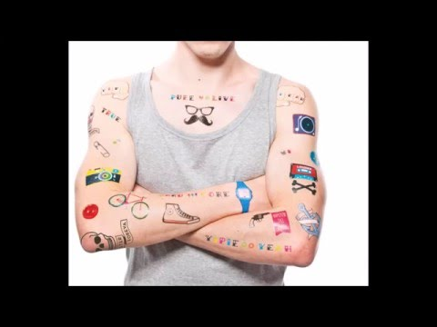 Small hipster tattoo on arms for men and women