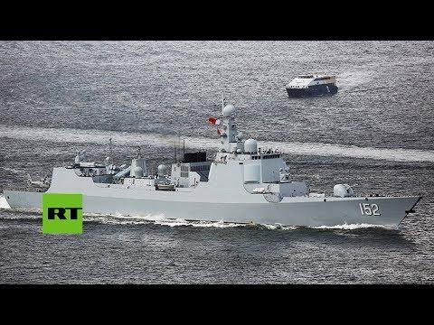 China muestra el potencial de su Armada