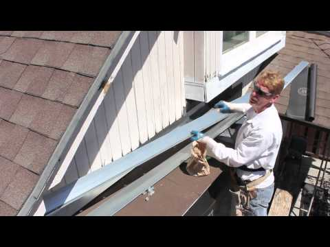 installing-roof-to-wall-flashing