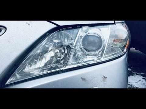 Замена штатных линз/Установка LED би-линз Toyota Camry V40