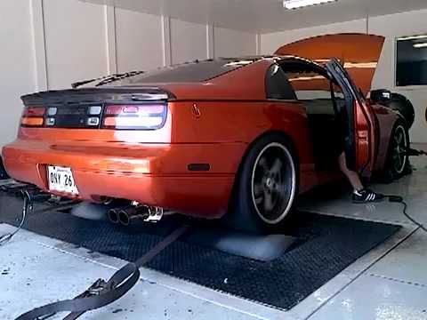 300zx Twin Turbo, Built Engine, Stock Turbos, 415 93 / 440 q16