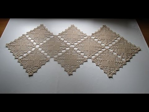 Uncinetto crochet centro tavola centrino tutorial - YouTube