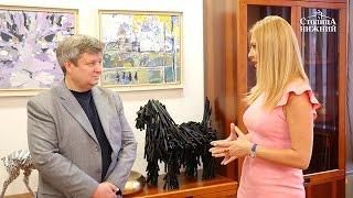 Художник Максим Приданов передал свои работы почётному консульству Венгрии в Нижнем Новгороде