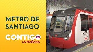Presidente confirmó restitución restringida de Metro de Santiago - Contigo en La Mañana