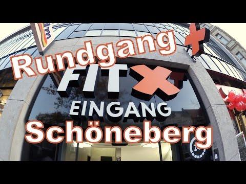 FitX Berlin-Schöneberg Rundgang